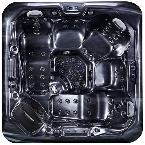 Barcelona Hot Tub Black Shell